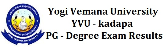 Manabadi Degree Results 2017, YVU Degree Results 2017