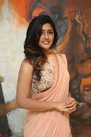 Eesha Rebba in beautiful peach saree at Darshakudu pre release ~  Exclusive Celebrities Galleries 012.JPG