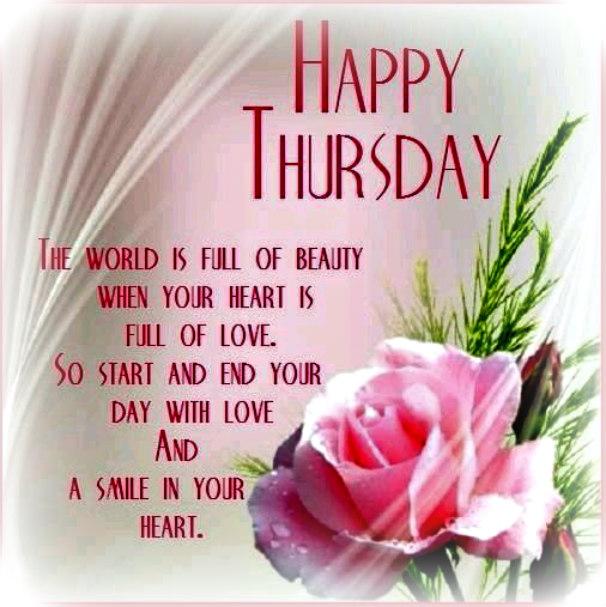 A Grandmas Blessings Happy Thursday