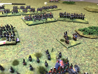 Wellington faces the Imperial Guard with no protection