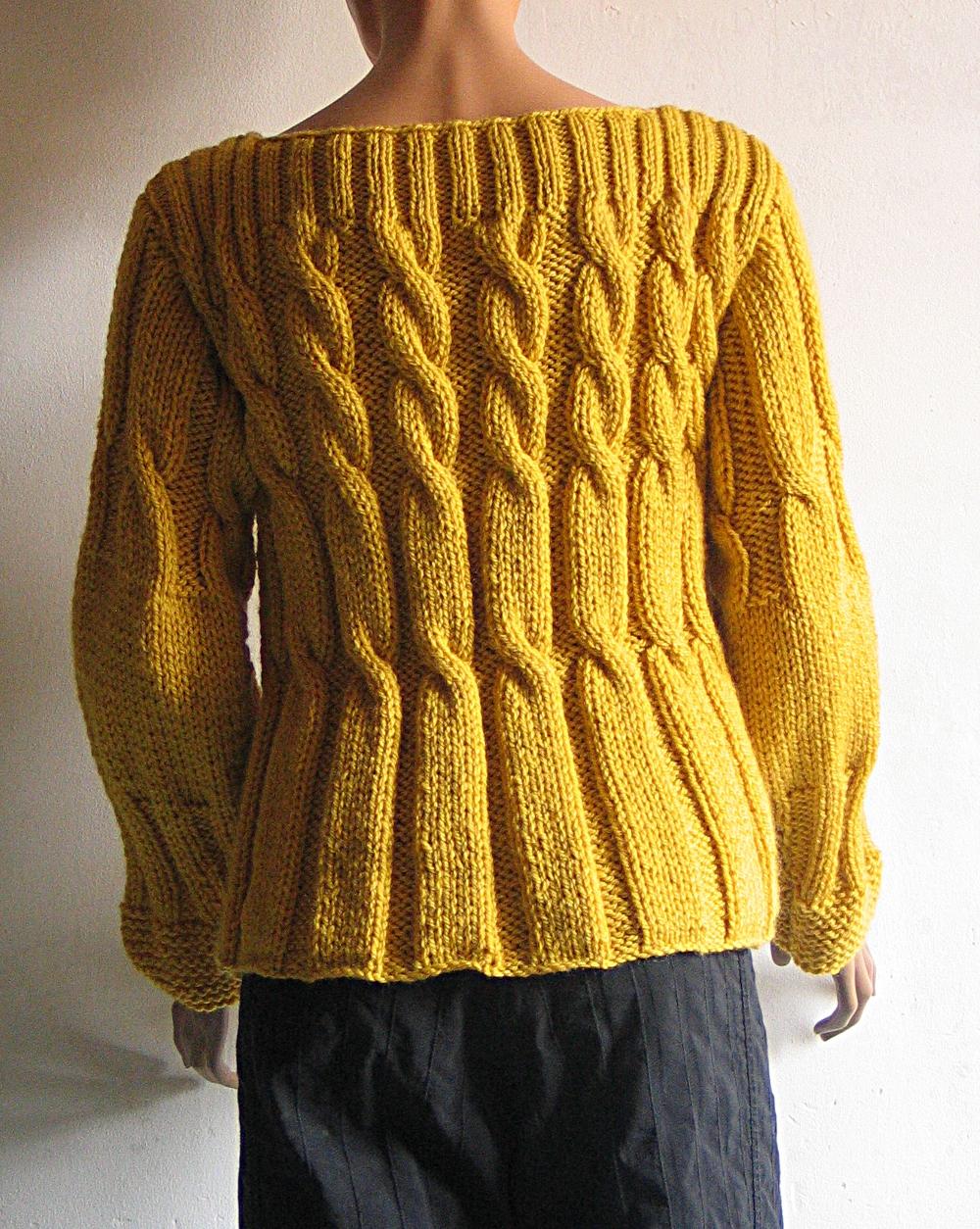 tricot fait main les pulls