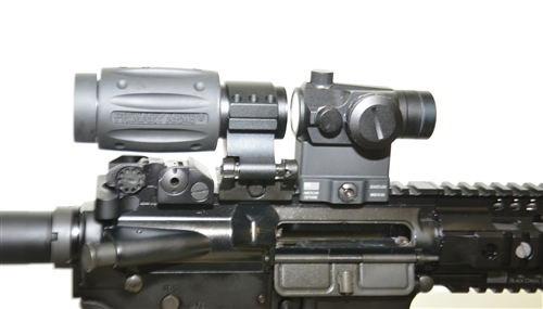 Question About Mounting Red Dot And X3 Magnifier On Ar 15