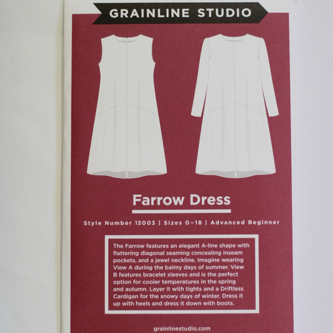 516c132f9ec THE DRAPERY  Pattern Review - The Farrow Dress by Grainline Studios