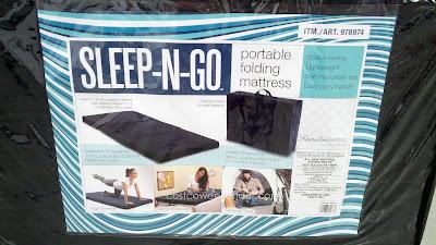 Ace Bayou Sleep N Go Portable Folding Mattress Costco