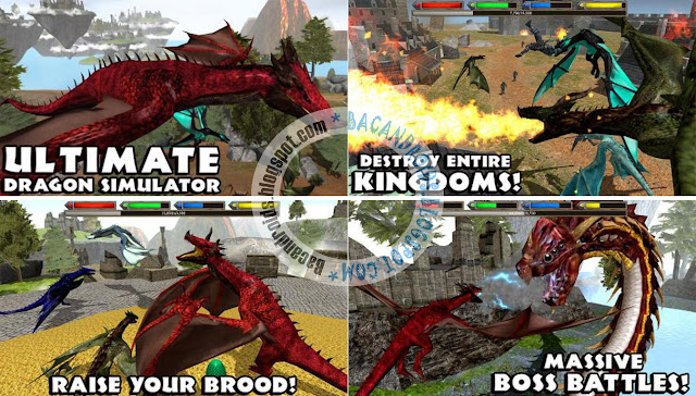 Game Ultimate Dragon Simulator Apk Premium Terbaru versi gratis