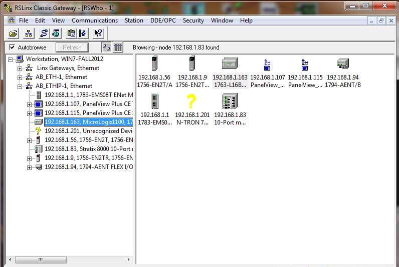 Getting Allen Bradley PLC Or PAC Data Into Excel Using