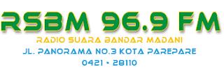 Radio RSBM 96.9 FM Parepare
