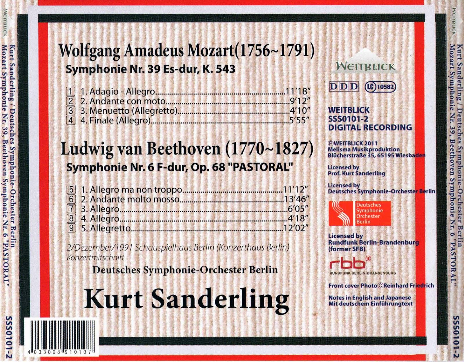HeadQuarters of Classical Music: Mozart - Symphony No  39