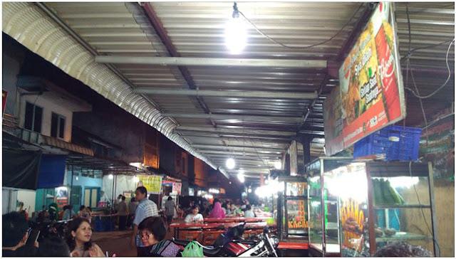 Kuliner Malam Kota Medan, Jalan Pagaruyung Kampung Keling