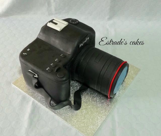 tarta cámara de fotos 3