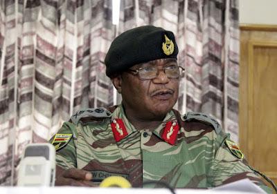 Zimbabwean military returns power to police