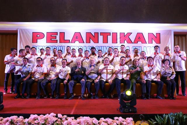 Dodi Reza Alex Jabat Ketua Umum Perbasi Sumsel Masa Bakti 2018 - 2022
