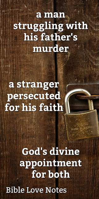 Steve Saint's father had been martyred. A young man in Mali was suffering for his faith. Their meeting was a divine appointment. Read why. #BibleLoveNotes #Bible #SteveSaint
