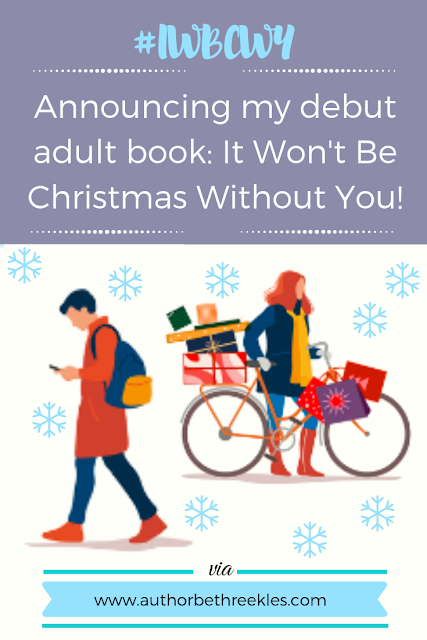 I have some exciting news to share... I'm publishing my first adult book and first Christmas book, It Won't Be Christmas Without You! It follows the story of twins Cara and Eloise as they try to have the perfect Christmas.