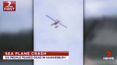 سقوط طائرة ركاب سياحية