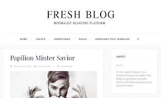 Fresh Blog Template
