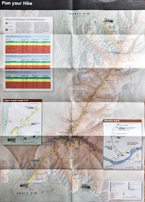 Hiking into Grand Canyon Brochure
