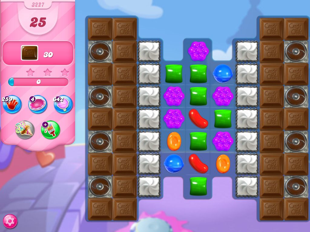 Candy Crush Saga level 3227
