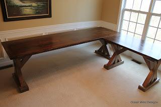 Custom L-Shaped Desk
