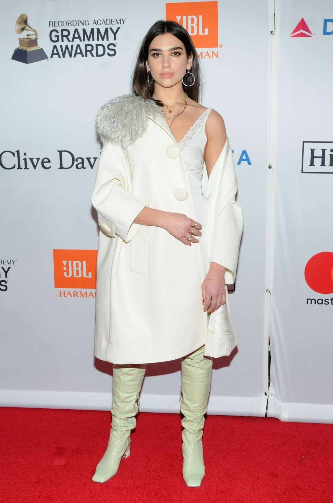 Dua Lipa – 2018 Pre-Grammy Gala and Salute to Industry Icons with Clive Davis in NY