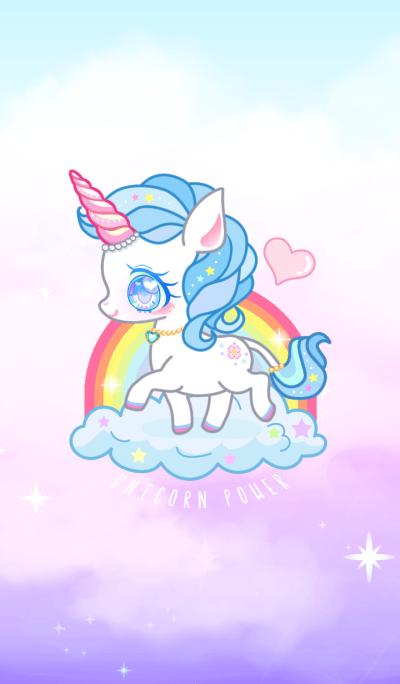 Blue Unicorn Power!