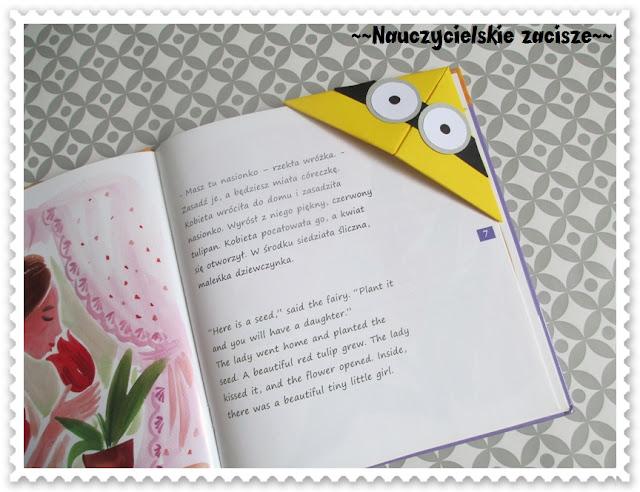 Zakładki do książek DIY minionki, angry birds