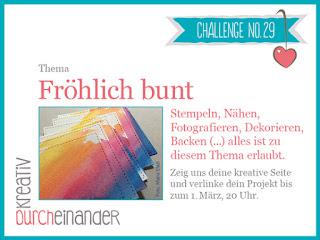 kreativ durcheinander Challenge #29