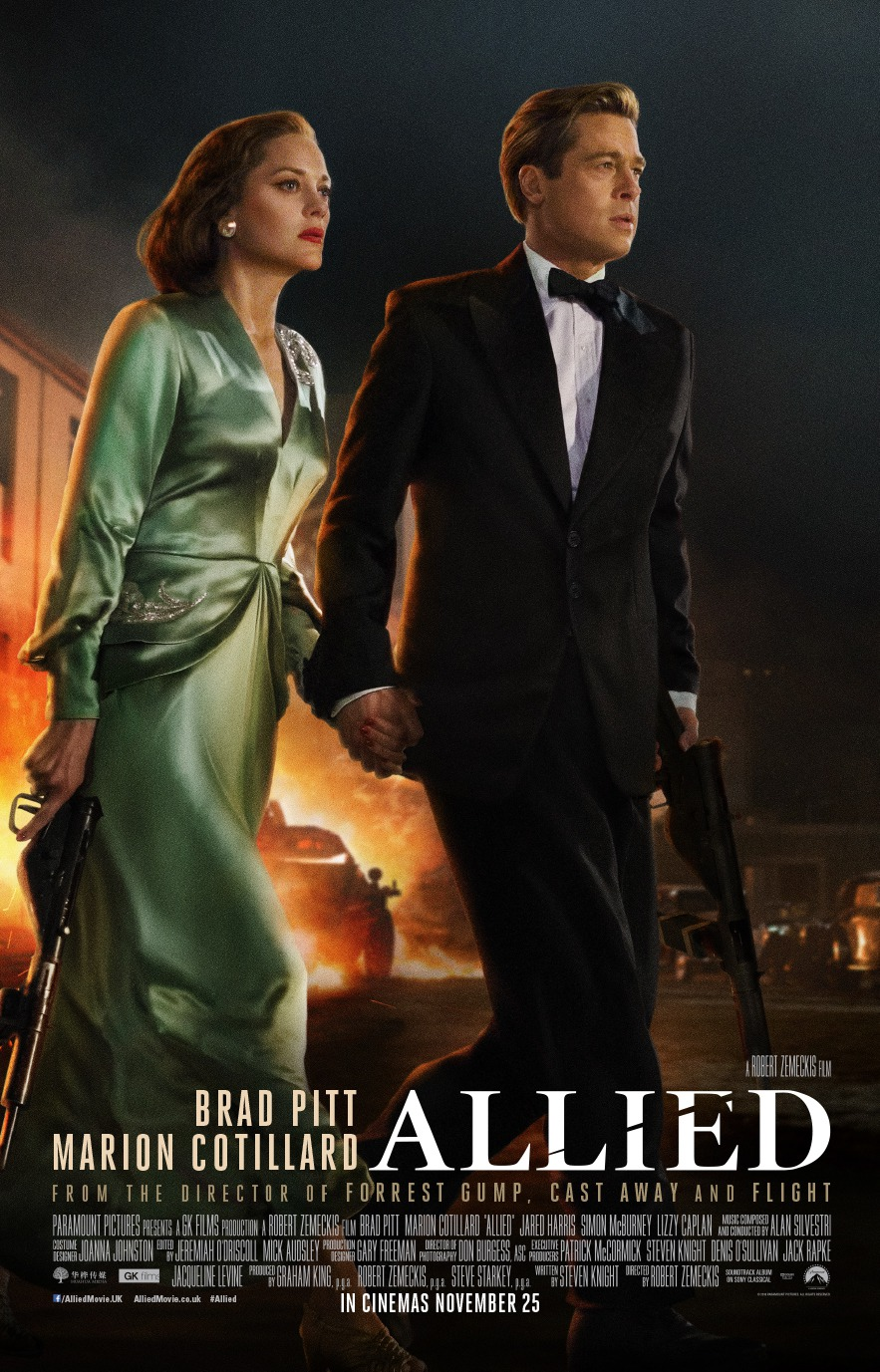 Nonton Film Allied (2016)