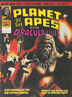 Marvel UK, Planet of the Apes #89