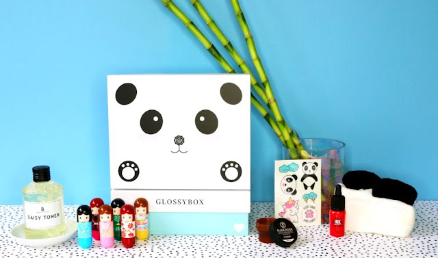 Panda Box, édition limitée Glossybox - Blog beauté
