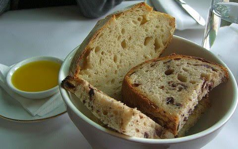 Nutritious black olive bread