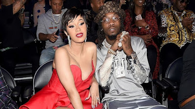 Cardi B shares first photo from Offset secret wedding