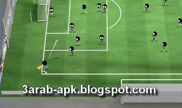 تحميل لعبة كرة القدم تسديد الكرة  Stickman Soccer 2016