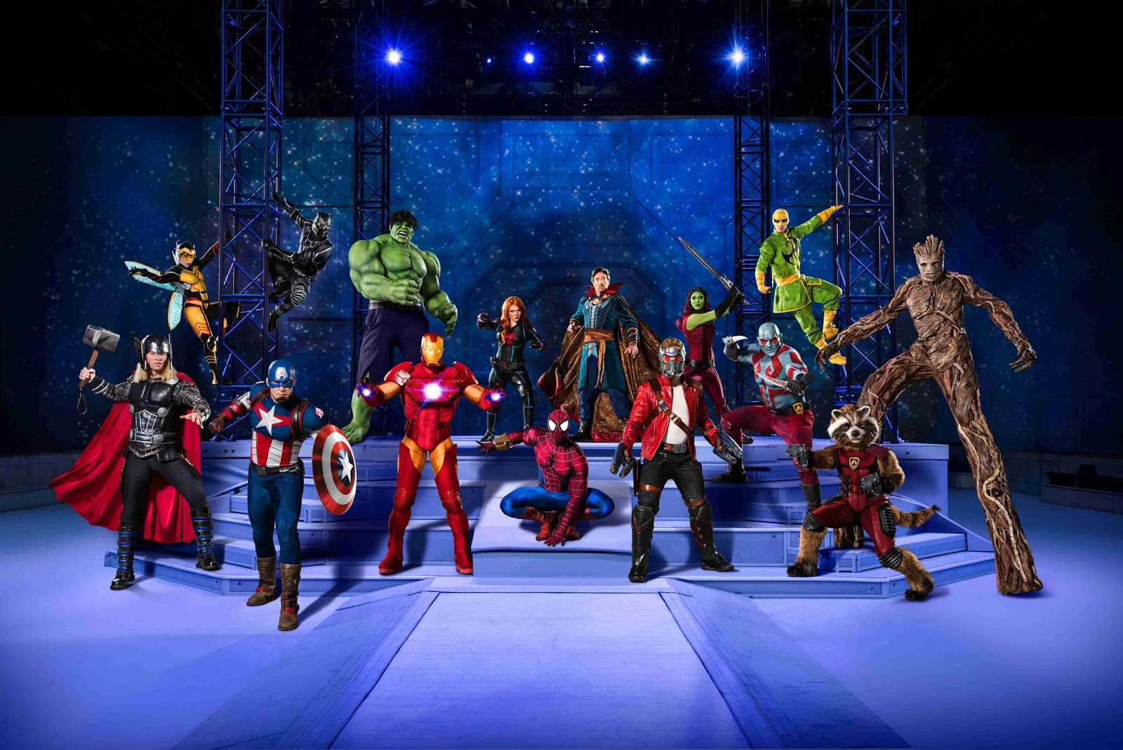 PHOTO: Marvel Universe Live! Marvel Universe LIVE! will visit Newcastle in 2019 - here's how to sign-up for priority tickets