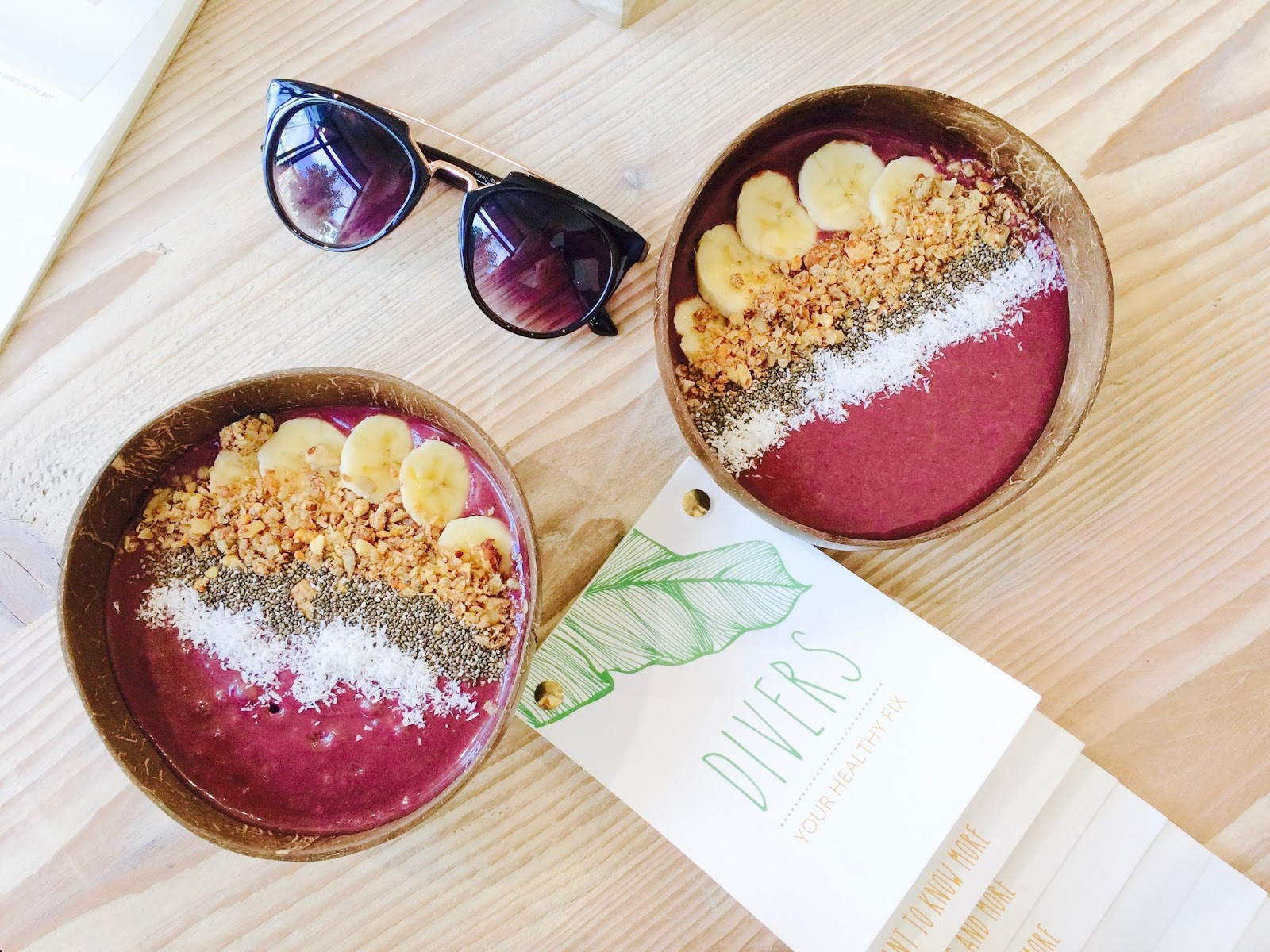Divers | Açaí Bowls in Antwerp