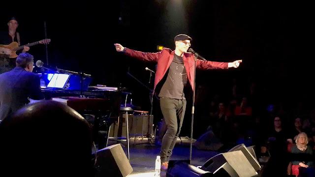 Marc Fichel a enflammé l'européen lors de son concert.