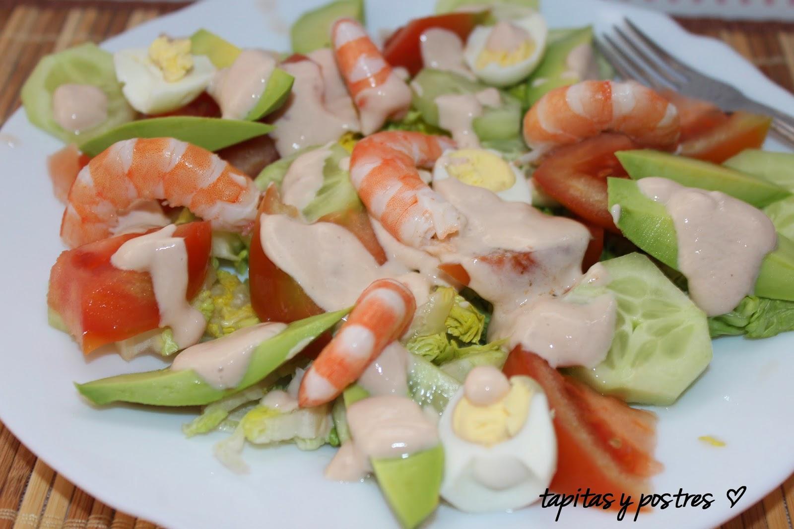 ensalada de frutas y hortalizas