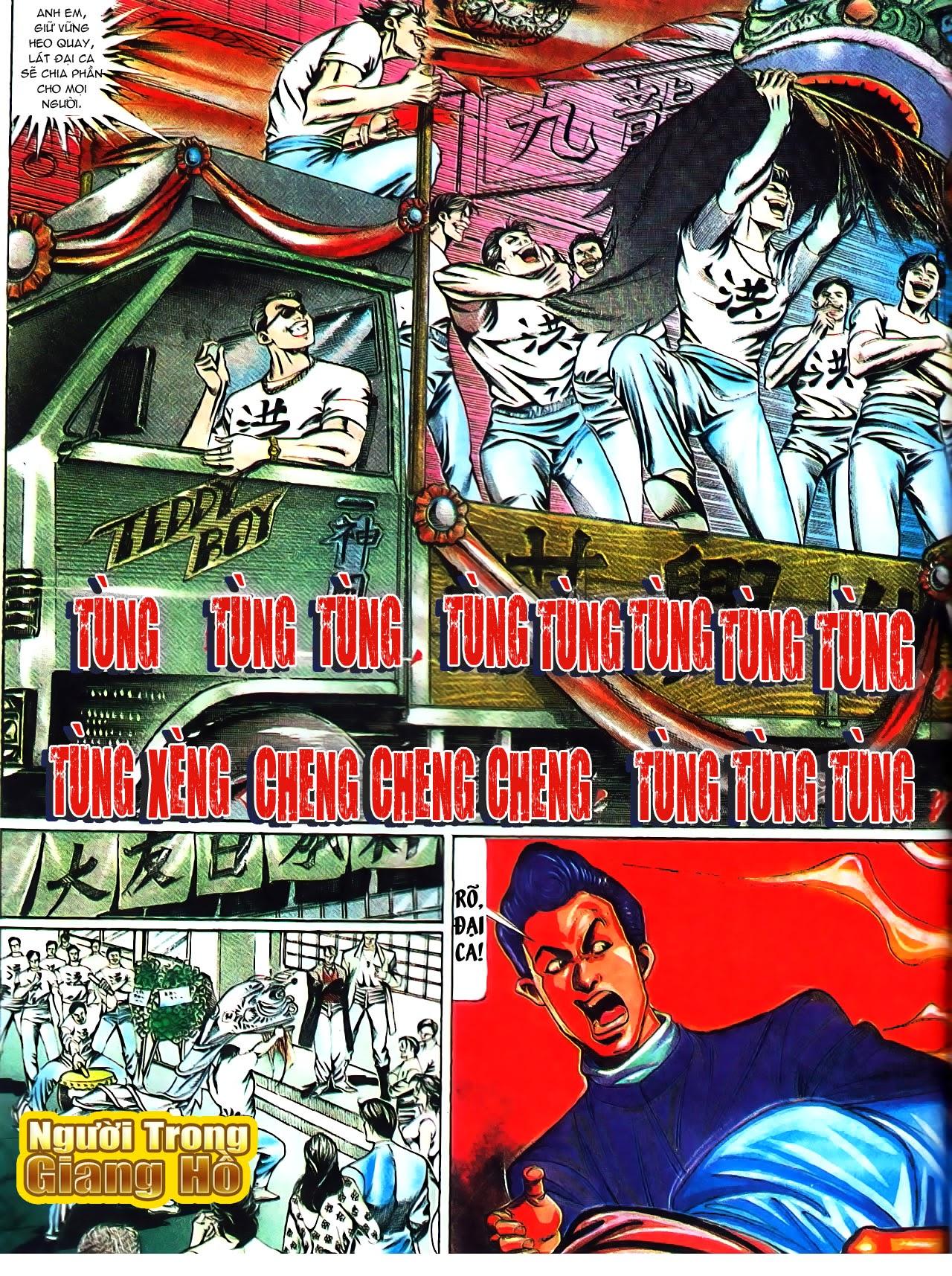 Người Trong Giang Hồ chapter 104: tuổi trẻ máu lửa trang 16