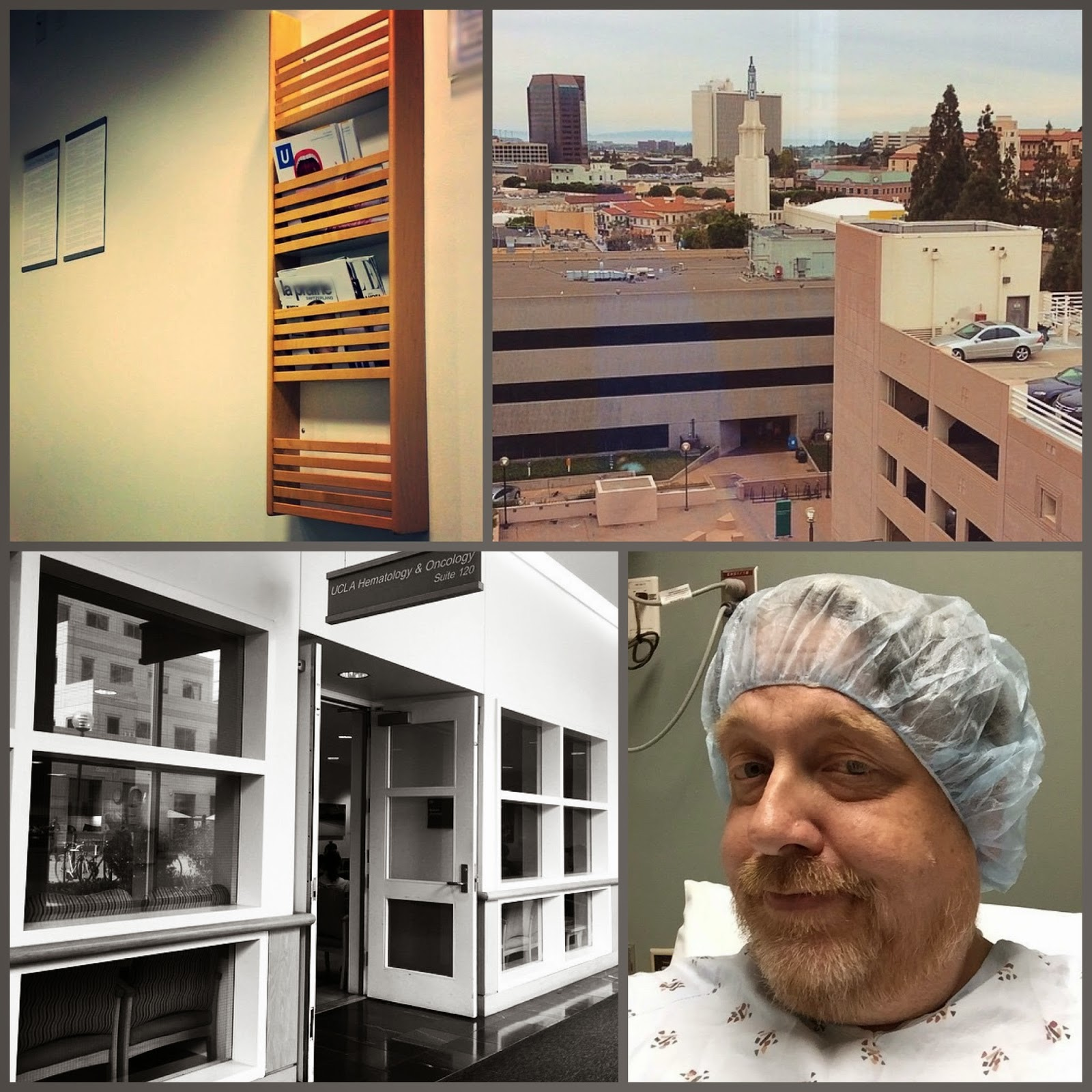 Scenes from UCLA Medical Center, January 28-30