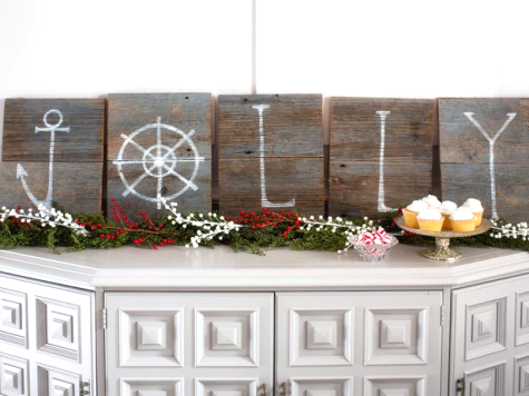 coastal holiday decor ideas HGTV