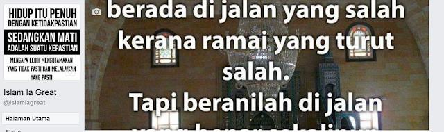 Penambahbaikan Blog Islam Is Great