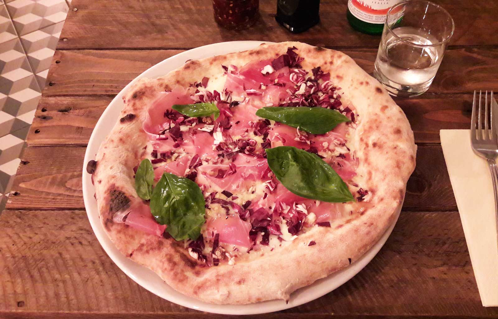 week-end à Bruxelles restaurant la Piola pizza
