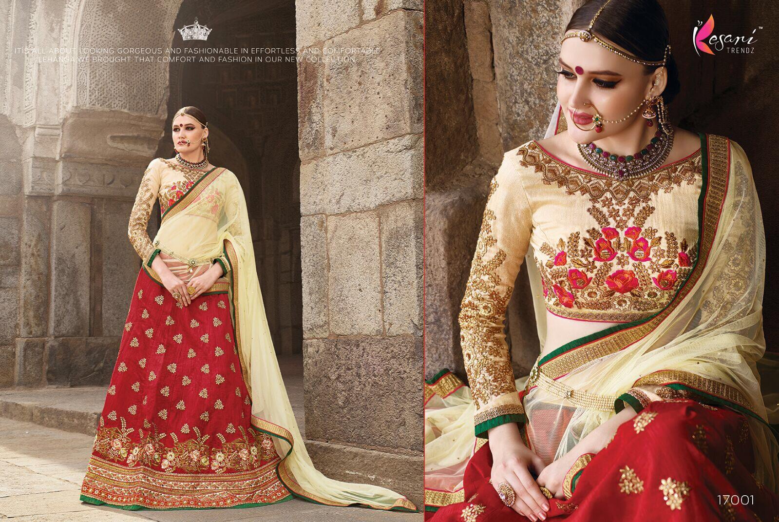 Kevina Vol 2 – Designer Embroidered  Bridal Lehenga Choli
