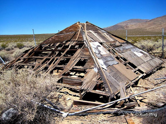 Not much left of this structure. It was once a small dwelling with adobe walls.