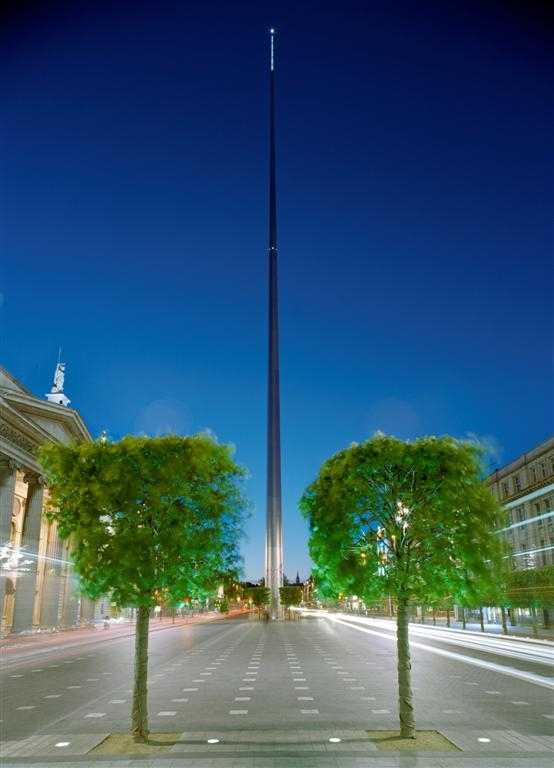 The Spire of Dublin, Ireland