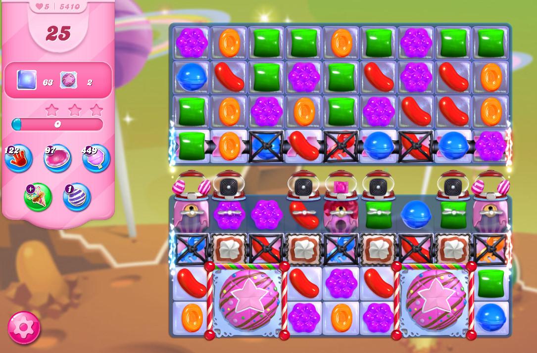 Candy Crush Saga level 5410