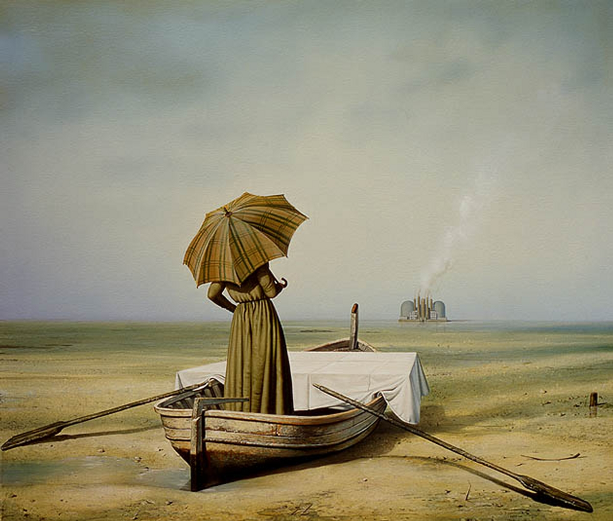 04-Böcklins-Island-of-Death-Displaced-Siegfried-Zademack-Surreal-Oil-Paintings-that-tell-us-a-Story-www-designstack-co