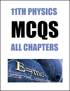 11th Class (FSc Part-1) Physics Multiple Choice Questions of Full Book (Pdf Format)