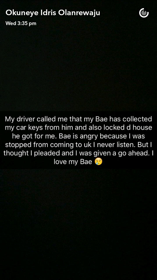 Eww! Lagos-based gay Bobrisky meets an admirer in London
