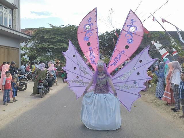 Karnaval Budaya di Pulau Kangean Meriahkan Peringatan HUT RI Ke 73